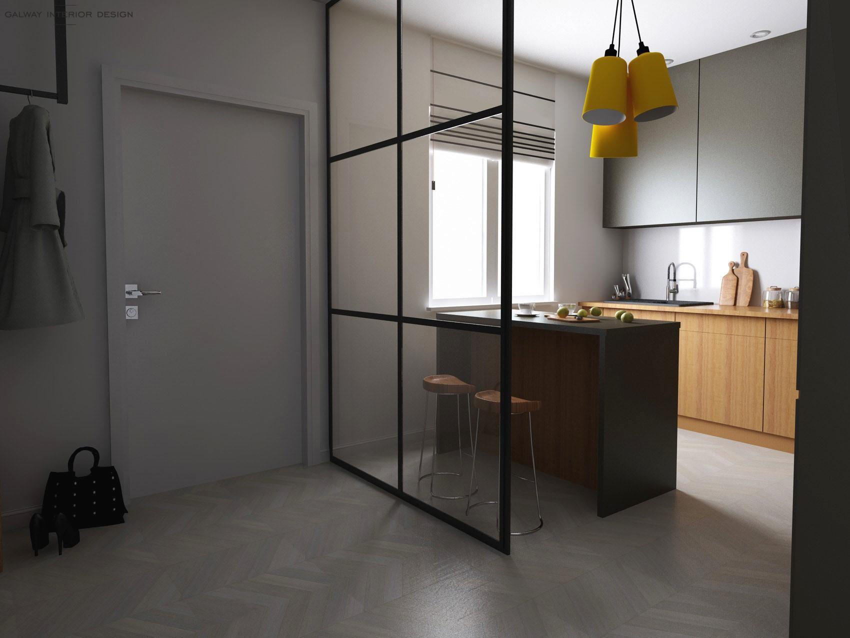 Galway Interior Design - Kitchen 3D