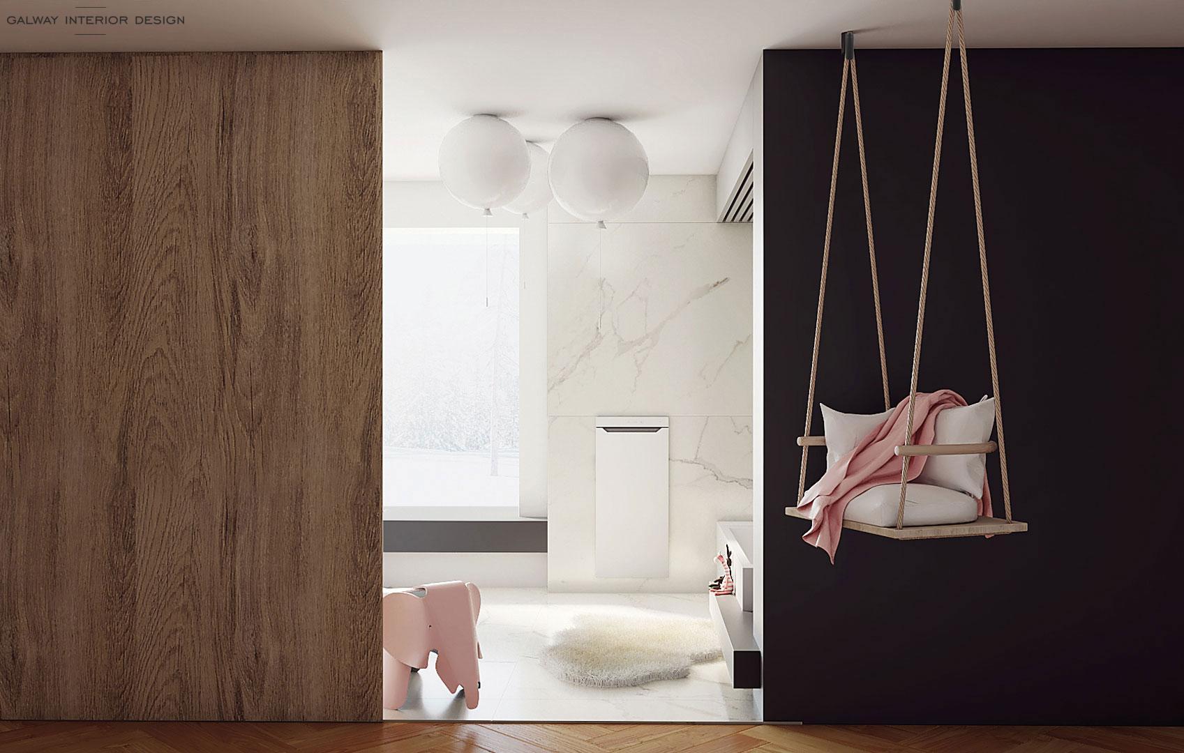 Galway Interior Design - Kids Bathroom Idea