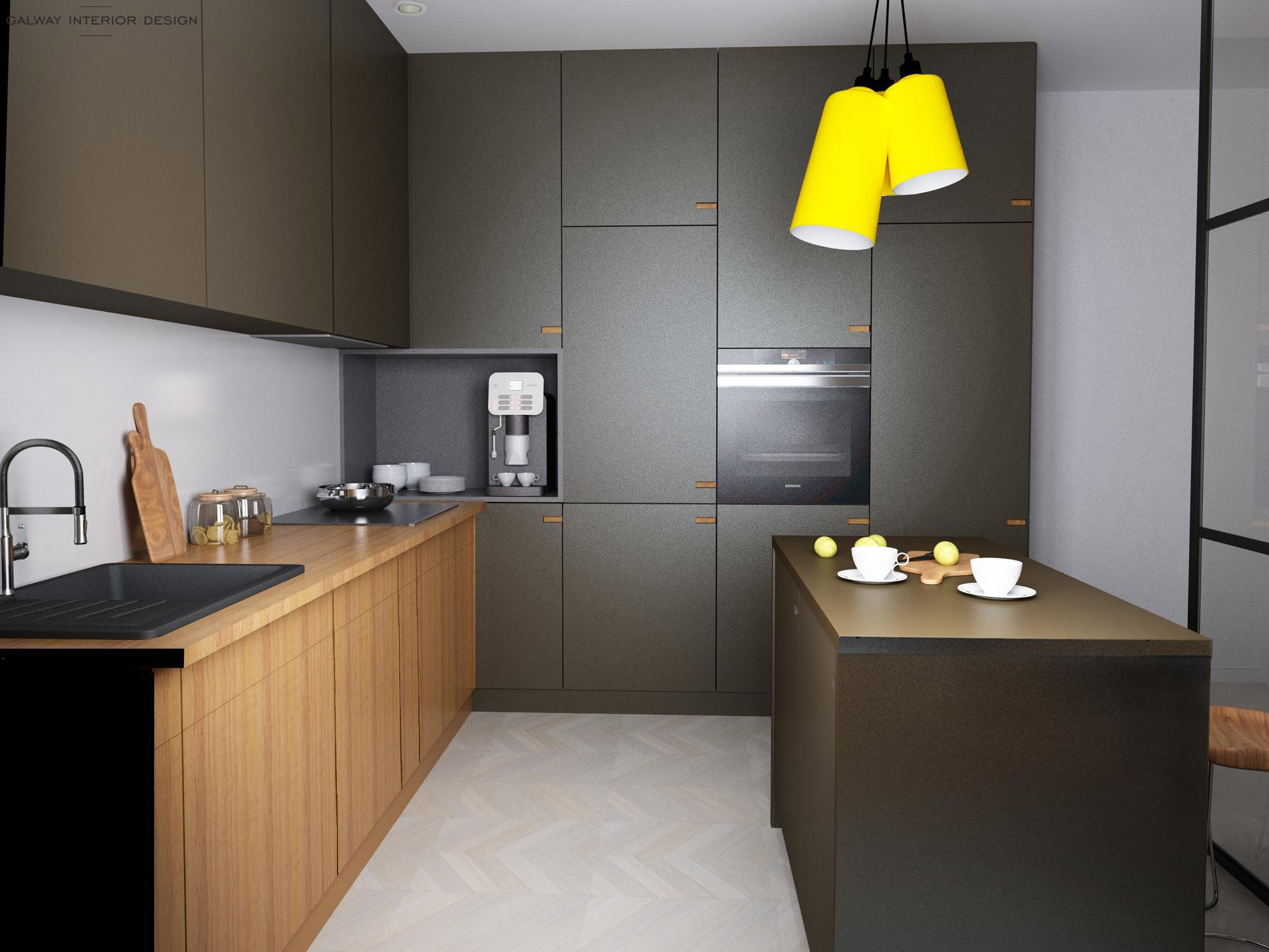 Galway Interior Design - Kitchen 3D