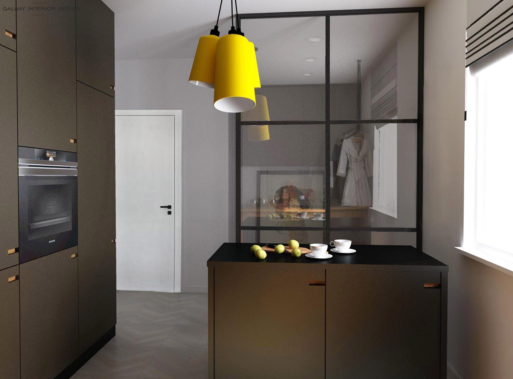 Galway Interior Design Kitchen 3D 3