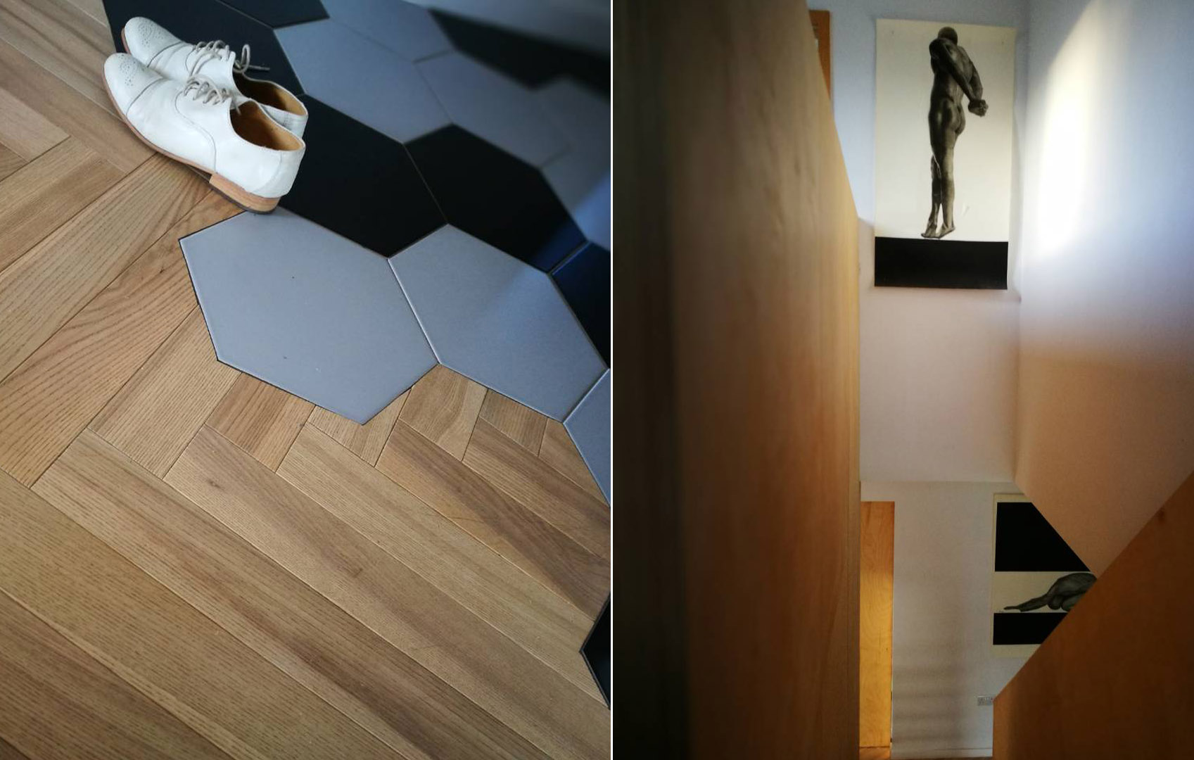 Galway Interior Design - Detail Plywood Stairs