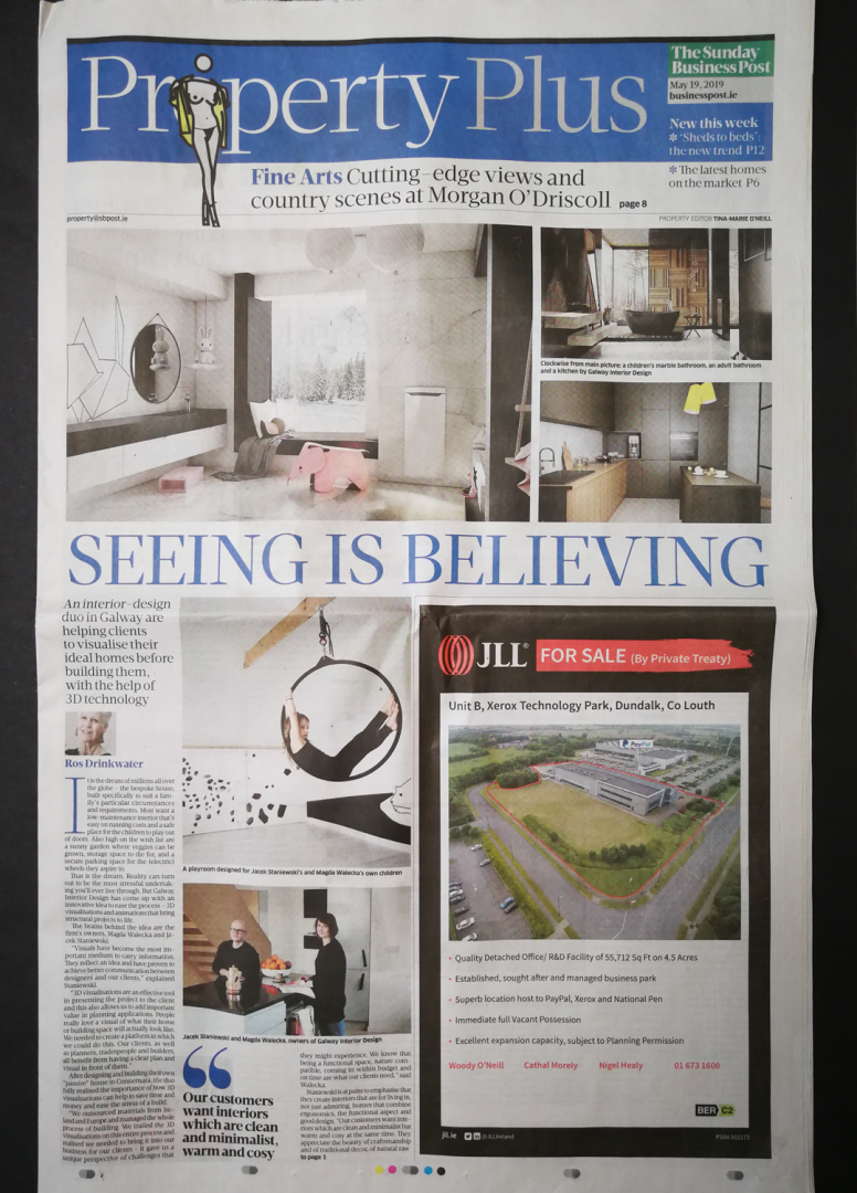 Galway Interior Design Minimalism Sunday Business Post