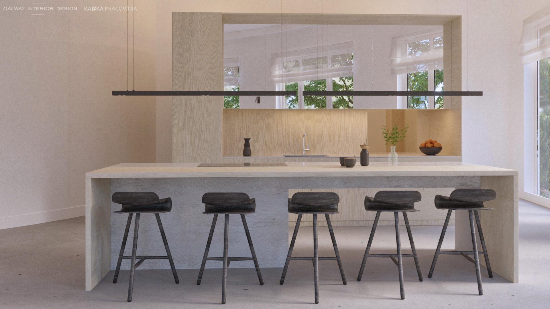 Galway Interior Design Minimalistic Kitchen