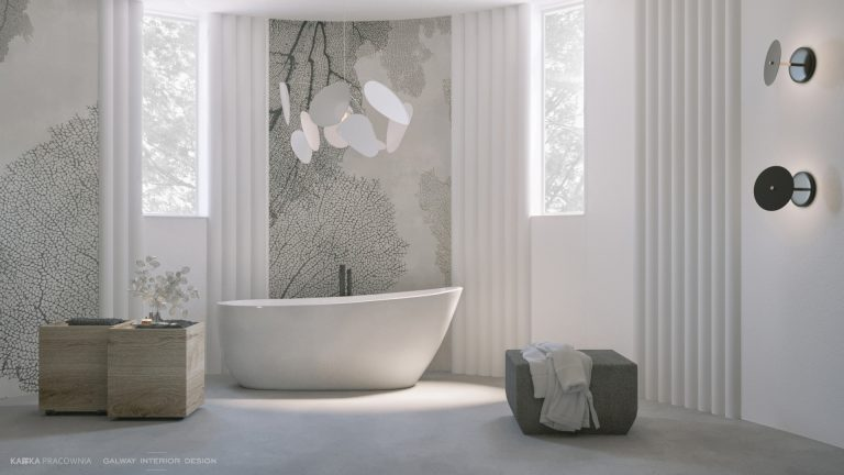 Galway Interior Design Modern Big Bathroom