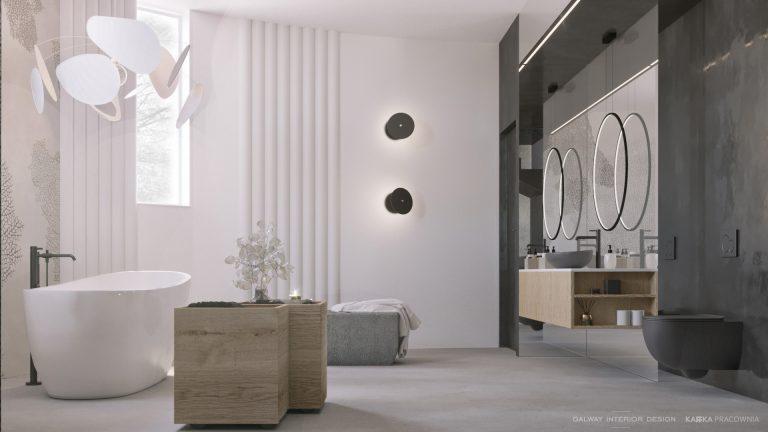 Galway Interior Design Modern Freestanding Bath
