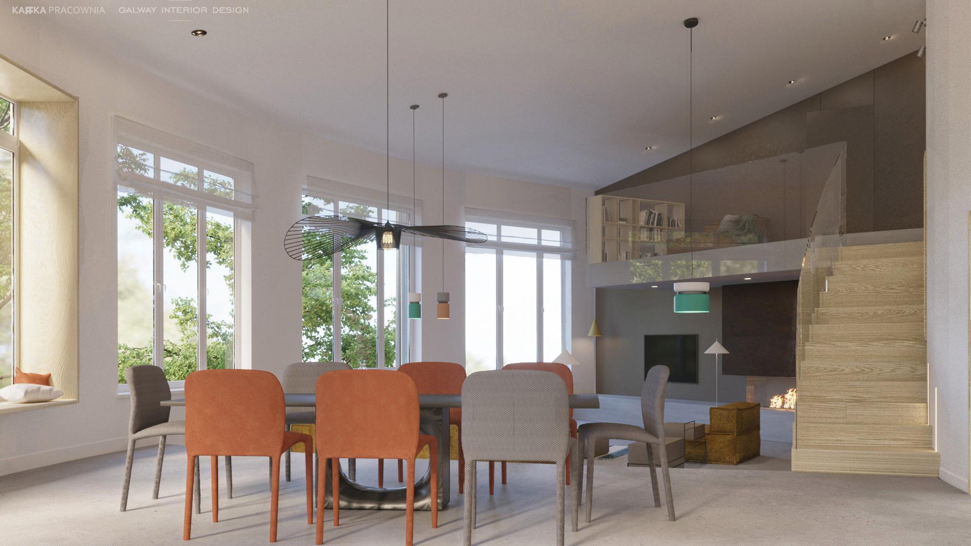 Galway Interior Design Open plan Living Room