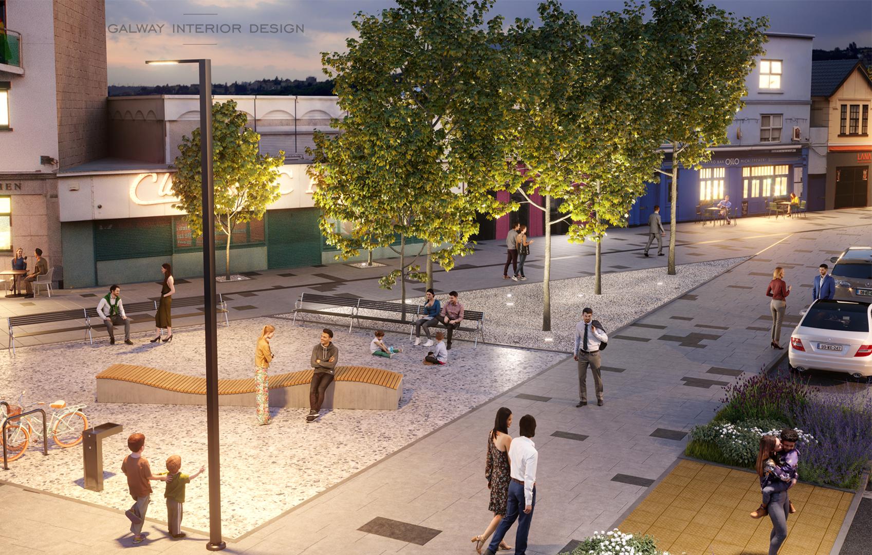 Galway Interior Design Salthill Visualisation Town