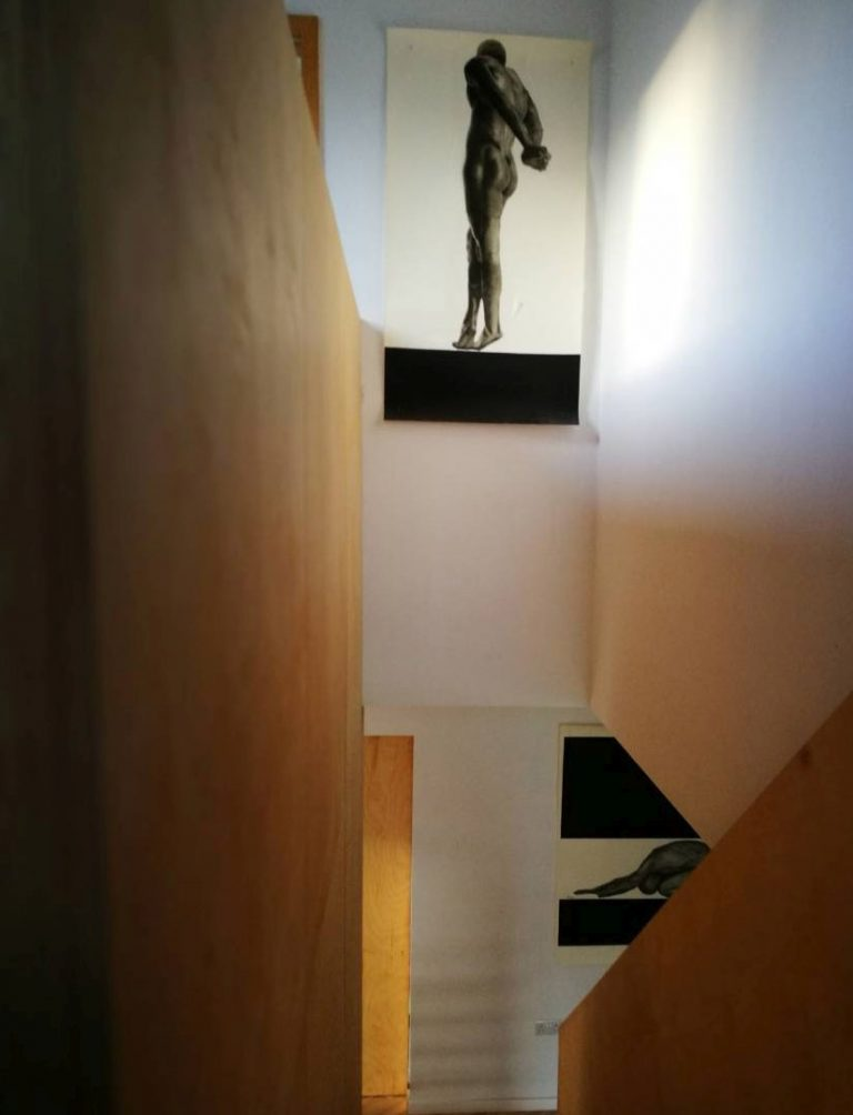 Galway Interior Design Detail Plywood Stairs 1