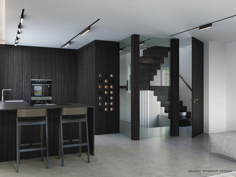 Galway Interior Design Lough Atalia FF Kitchen 1